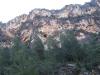 Vista de la mina La Amorosa desde la carretera